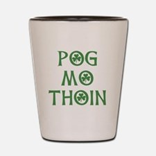 Pog Mo Thoin Shamrock Shot Glass