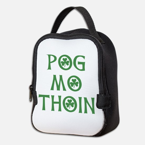 Pog Mo Thoin Shamrock Neoprene Lunch Bag