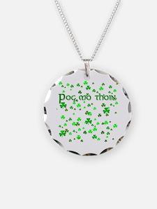 Shamrocks Pog Mo Thoin Necklace