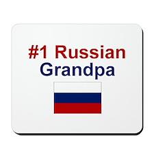 Russia #1 Grandpa Mousepad