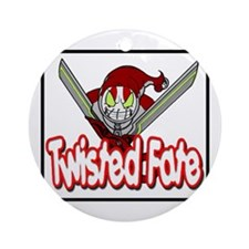 Twisted Fate Graphic 001 Ornament (Round)
