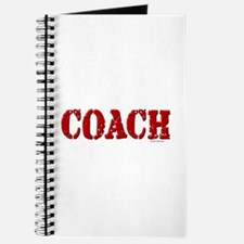 Coach in Red Journal