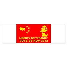 Liberty or Tyranny Bumper Bumper Sticker
