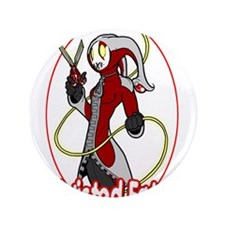 """Twisted Fate Graphic 002 3.5"""" Button (100 pack)"""