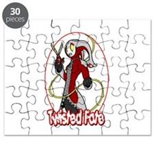 Twisted Fate Graphic 002 Puzzle