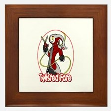 Twisted Fate Graphic 002 Framed Tile