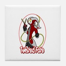 Twisted Fate Graphic 002 Tile Coaster