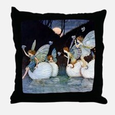 NAUTILUS FAIRIES Throw Pillow