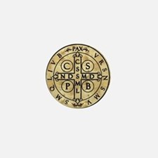 St. Benedict Medal Mini Button