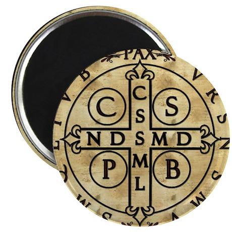 """St. Benedict Medal 2.25"""" Magnet (100 pack)"""