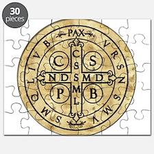 St. Benedict Medal Puzzle