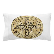 St. Benedict Medal Pillow Case