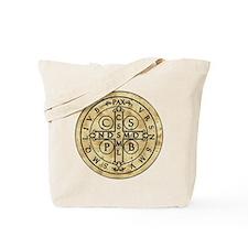 St. Benedict Medal Tote Bag