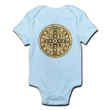 St. Benedict Medal Infant Bodysuit