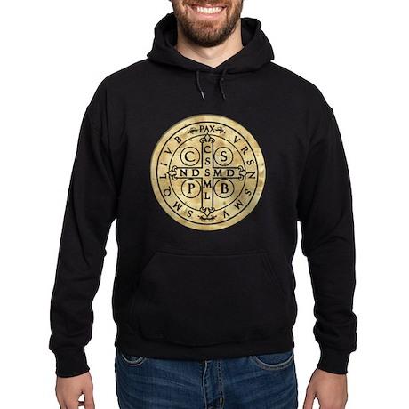 St. Benedict Medal Hoodie (dark)