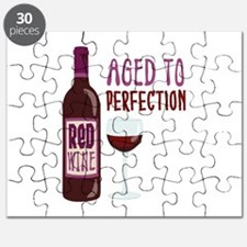 ReD WINE AGED TO PERFECTION Puzzle