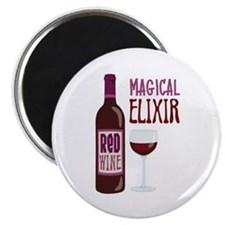 ReD WINE MAGICAL ELIXIR Magnets