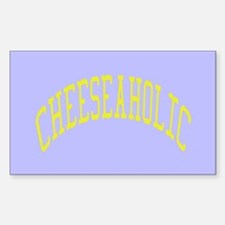 Cheeseaholic Decal
