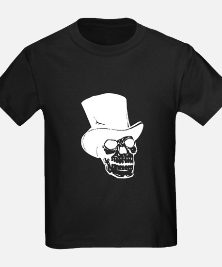 Skull With Top Hat T-Shirt
