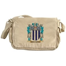 Armstrong Coat Of Arms Messenger Bag