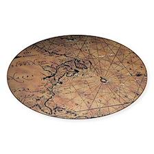 Treasure map Decal