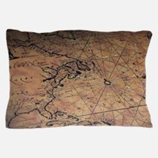 Treasure map Pillow Case
