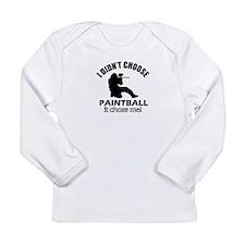 paintball Designs Long Sleeve Infant T-Shirt