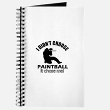 paintball Designs Journal