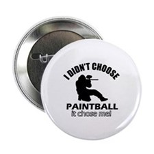 "paintball Designs 2.25"" Button"