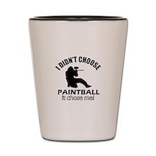 paintball Designs Shot Glass