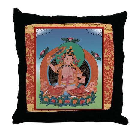 Buddha Tangka Throw Pillow