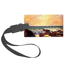 Gauguin - Rocks and Sea. Paul Ga Luggage Tag