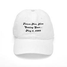 Future Mrs. Neve Coming Soon Baseball Cap
