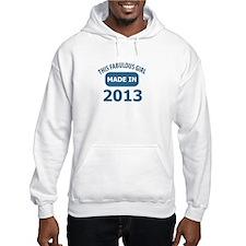 2013 year birthday designs Hoodie