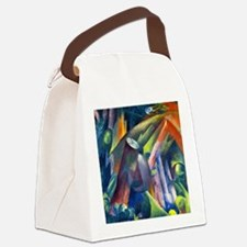 Franz Marc - Forest Interior with Canvas Lunch Bag