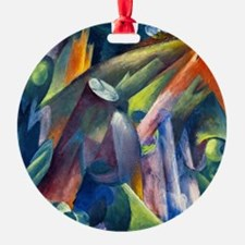 Franz Marc - Forest Interior with B Ornament