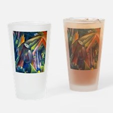 Franz Marc - Forest Interior with B Drinking Glass