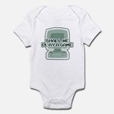 """""""Shall we play a game?"""" [WarG Infant Bodysuit"""