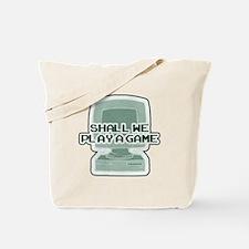 """Shall we play a game?"" [WarG Tote Bag"