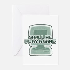 """""""Shall we play a game?"""" [WarG Greeting Cards (Pack"""