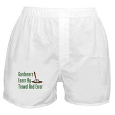 Gardeners Trowel And Error Boxer Shorts
