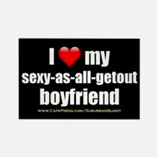 """Love My Sexy-As-All-Getout Boyfriend"" Rectangle M"