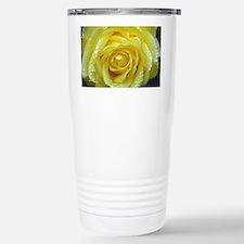 Yellow Rose Travel Mug