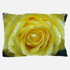 Yellow Rose Pillow Case