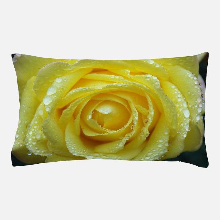 Yellow Rose Pillow Case