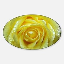 Yellow Rose Decal