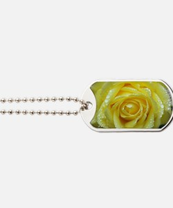 Yellow Rose Dog Tags