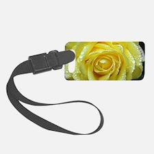 Yellow Rose Luggage Tag