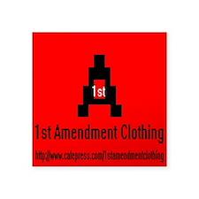 1St Amendment Clothing Sticker