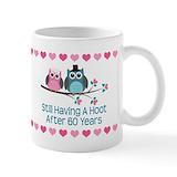 60th wedding anniversary Standard Mugs (11 Oz)